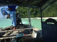 クラビの海で、熱帯魚と遊んでしまった!  Krabi タイ