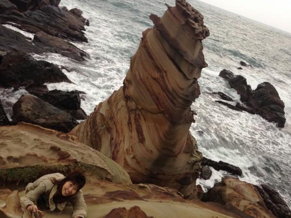 南雅奇岩のサスペンス劇場!台湾北部の海岸線へ