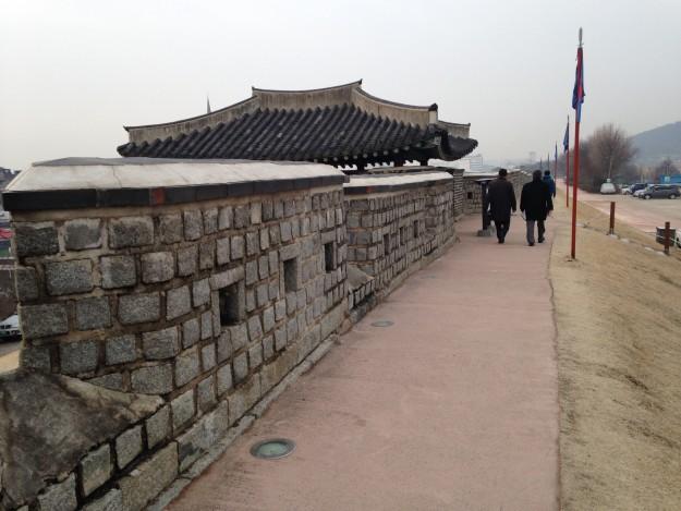 東洋の城郭史に残る世界文化遺産 水原華城 韓国