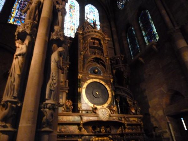 これが、大聖堂の天文時計