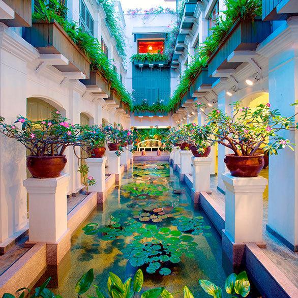 マンダリンオリエンタルホテルの夢のようなスパ空間へ