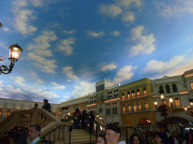 ラスベガス ストリップ大通りにある世界中のモニュメント。これはベネチア