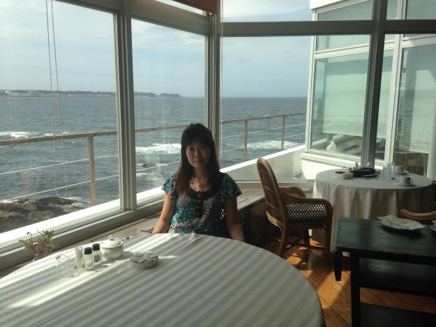 佐島マリーナホテルの朝食。心が躍ります。
