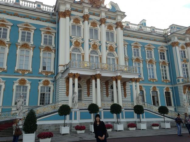 サンクトペテルブルグからエカテリーナ宮殿への行き方