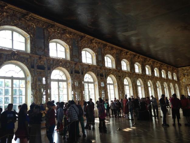 エカテリーナ宮殿鏡の間