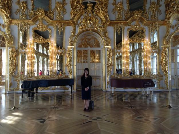 エカテリーナ宮殿鏡の間でパーティしませんか