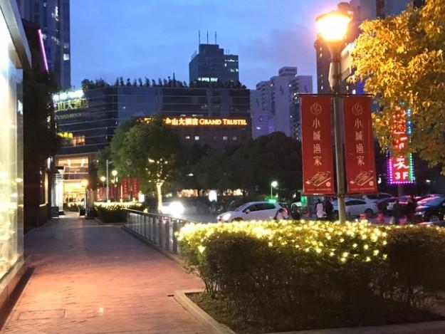 今は上海の街は安全。日本にいるのと全く同じ感覚で外出できる。