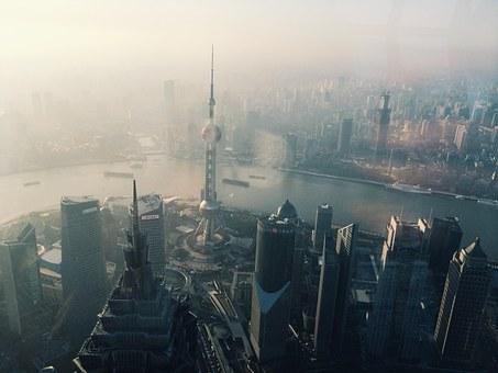摩天楼の上海
