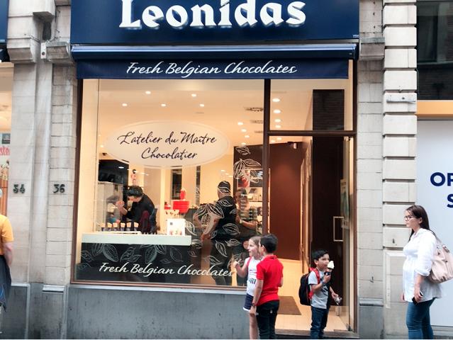 一番庶民的な人気チョコブランド。レオニダス。