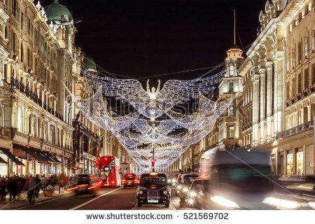 ロンドンのクリスマス、イルミネーションを楽しめる場所はここ!