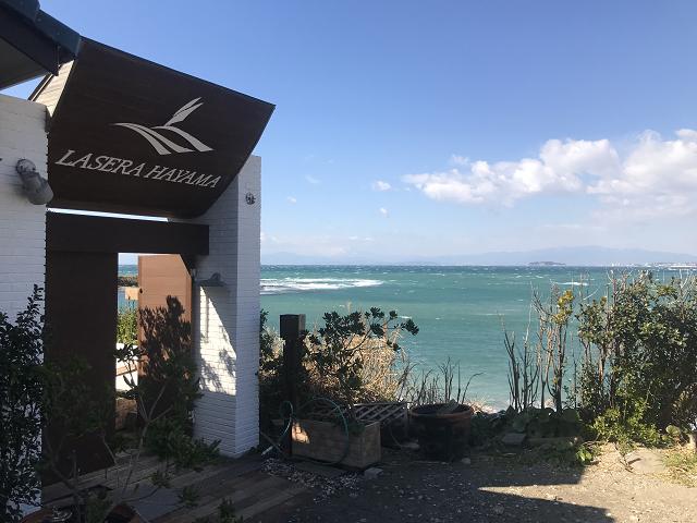 よく見るとHAYAMAって書いてあるけど、沖縄の海のような鮮やかさ。