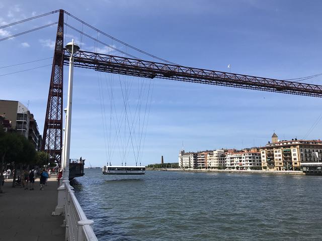 今でも反対側にゴンドラで渡れます。橋の上を歩いて渡ることもできます。