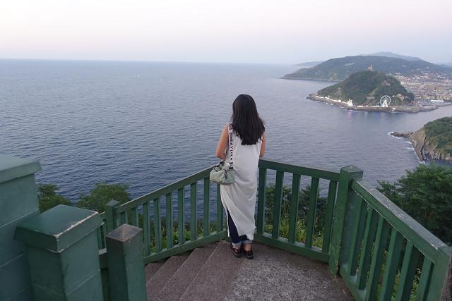 遥かなる大西洋。とってもロマンを感じる海。モンテ・イゲルドの展望台よりの夕暮れ