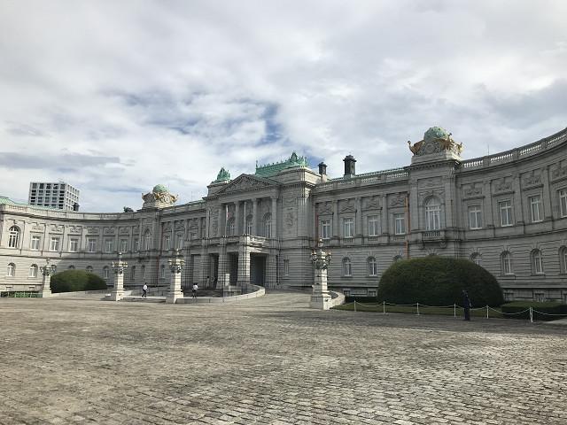 赤坂離宮 迎賓館の正面広場