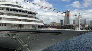 豪華客船 飛鳥II の客室 見学会に行ってみました  横浜港大桟橋